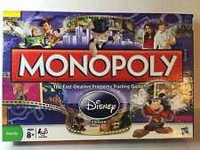 MONOPOLY DISNEY EDITION MICKEY TINKER BELL 2009  COMPLETE!!