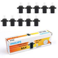 10pcs For Philips 12597 T5 12V 1.2W BAX8.3s/1.35 Premium Signaling Bulb B3