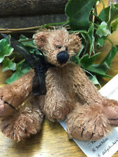 "Brand New Handmade Mohair Artist Bear ""Shae"""