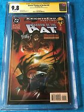 Batman: Shadow of the Bat #29 - DC -CGC SS 9.8 - Signed by Stelfreeze Blevins