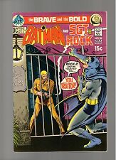 BRAVE AND THE BOLD # 96   ( 1970 )   SGT. ROCK!  DC COMICS   SHARP COPY!