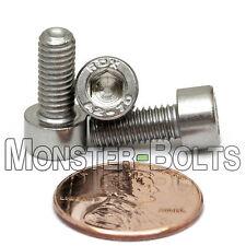 M5 x 12mm - Qty 10 - DIN 912 SOCKET HEAD Cap Screws - Stainless Steel A2 / 18-8