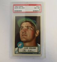 1952 Topps Baseball #201 Alex Kellner PSA 6 EX/MT