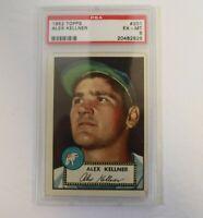 1952 Topps Baseball #201 Alex Kellner PSA 6 EX/MT
