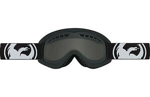 Dragon Alliance DX Ski snowboard Goggles  adult Coal/Smoke/Black NEW