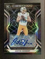 **REPACK** 2020 Obsidian Football Justin Herbert RC AUTO 16 Cards! Auto / Mem!