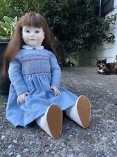 Lynne & Michael Roche - Collette 21� Wooden Doll