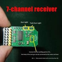 7-channel Bluetooth Remote Control Receiver 3.3V-6.8V for RC Car Boat DIY Model