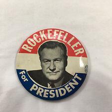 "Nelson Rockefeller for President 1976 Campaign Button (3.5"")"