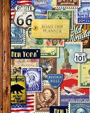 Road Trip Planner: Vacation Planner & Travel Journal / Diary for 4 T... NEW BOOK