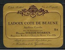 Etiquette de Vin - Ladoix Cote de Beaune - Domaine Tollot-Voarick - Réf.n°7