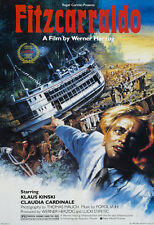 Fitzcarraldo Klaus Kinski cult movie poster print