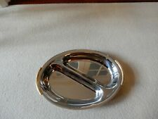 Stunning, Retro, INOXBECK, ITALY, 18/10, Stainless Steel Divided, Oval Serving