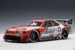 AUTOart 2002 Nissan Nismo R34 GT-R JGTC Xanavi #22 1/18 Model Car