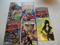 DC comics and Other Assorted Action Comics lot of 8 Elvira etc