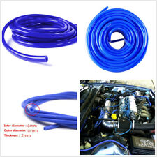 5M/16.4ft Blue Vehicle ID 6mm OD 10mm 2mm Thickness Silicone Vacuum Tubing Hose