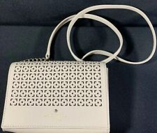Kate Spade Purse Crossbody Leather Shoulder Bag Wallet Clutch Chain strap
