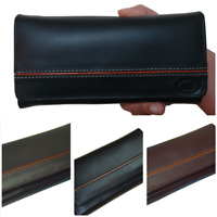 Fashion Women Leather Purse Wallet Bifold Card Holder Genuine Quality Black Red