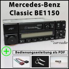 Original Mercedes Classic BE1150 Becker Kassettenradio A0038202986 Autoradio Set