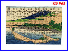 Hokusai - Shore of Tago Bay, Ejiri at Tokaido Art - 120 Piece Jigsaw Puzzle