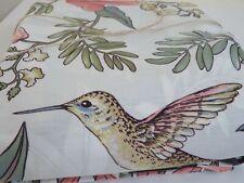 Pottery Barn Karina Reversible Black Floral Duvet Cover King NEW HUMMINGBIRD