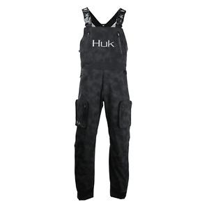 Save 45% HUK Leviathan Reflective Fishing Bib Pant Pick Size/Color-Free Ship