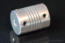 Flexible Wellenkupplung Alu 3 x 5mm Welle Mini Kupplung für Schrittmotor Antrieb