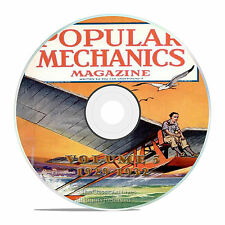 Vintage Popular Mechanics Magazine, Volume 5 DVD, 1929-1932, 37 issues, V15