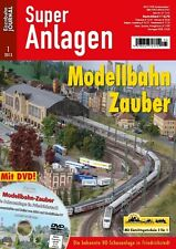Eisenbahn Journal - Modellbahn Zauber mit DVD 1-2013 Super Anlagen