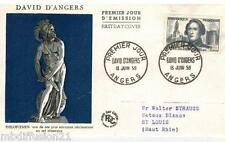 1959//ENVELOPPE--FDC 1°JOUR** DAVID D'ANGERS. **TIMBRE Y/T N°1210