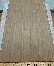"Walnut wood veneer panel 3/4"" x 8"" x 12"" on MDF board with Walnut backer"
