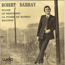 "ROBERT BAIRRAY ""SYLVIE"" 60'S EP POP JERK ! WELP 2216 dédicacé !"