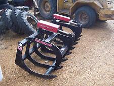 """*New Versatech Hydraulic Grapple - Double Ram 78""""  Heavy Duty"""