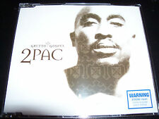 2Pac / Tupac Ghetto Gospel Rare Australian Enhanced CD Single – Like New