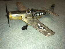 Testors Fly Em P-51 Mustang Control Line Plane w/ .049 Gas Engine model airplane