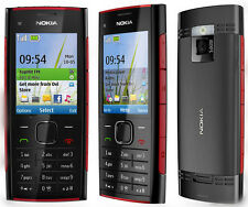Nokia X2-00 Red on Black GSM Unlocked phone free shipping