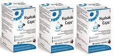 3 x HYABAK Kapseln Omega 3 und 60 Kapseln für Pflege of Vision