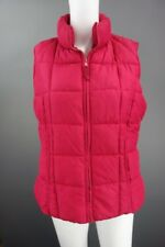 Womens Red Bubble Style Gilet Bodywarmer Size UK 14 (EUR 42)