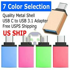 USB C 3.1 Type C Male to USB 3.0 Adapter OTG Data Sync Charging Cable Dongle