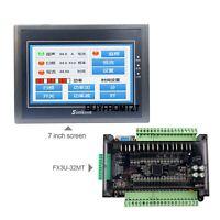 """For Samkoon EA-070B 7"""" 800*480 + FX3U-32MT PLC Controller Board 8-Way 100K Pulse"""