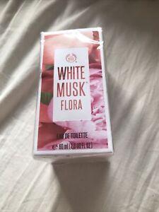 Body Shop White Musk Flora Perfume 60ml( sealed in box)