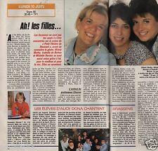 Coupure de presse Clipping 1991 Mimie Mathy M. Bernier I.Botton  (1 page 1/2)