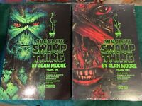 Absolute Swamp Thing Volumes 1 & 2 DC Comics Vertigo Alan Moore