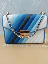 Michael Kors Genuine Ladies Medium Rose Flap Crossbody Shoulder Bag BNWT RP £340