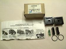 """New Arrow Pneumatics Tri Star Modular Pipe Port Kit 1/4"""" Ik52"""