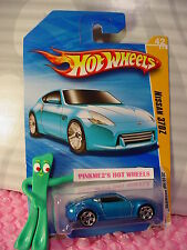 vhtf 2010 #42 Premier Hot Wheels NISSAN 370Z ❊variation Candy Blue;pr5❊New Model