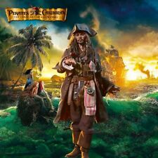 "1/6 Jack Sparrow Diorama 15""x15"" - Ideal for Hot Toys DX06 DX15 POTC"