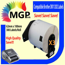 3 Compatible for Brother DK-11202 Shipping/Name Label QL-500WQL-570 QL-700