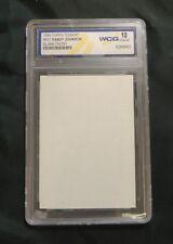 1990 Topps Blank Front #431 Randy Johnson Seattle Mariners Baseball Card
