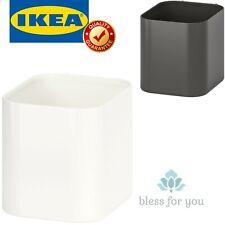 Ikea Skadis Container White Gray Storage Organizer